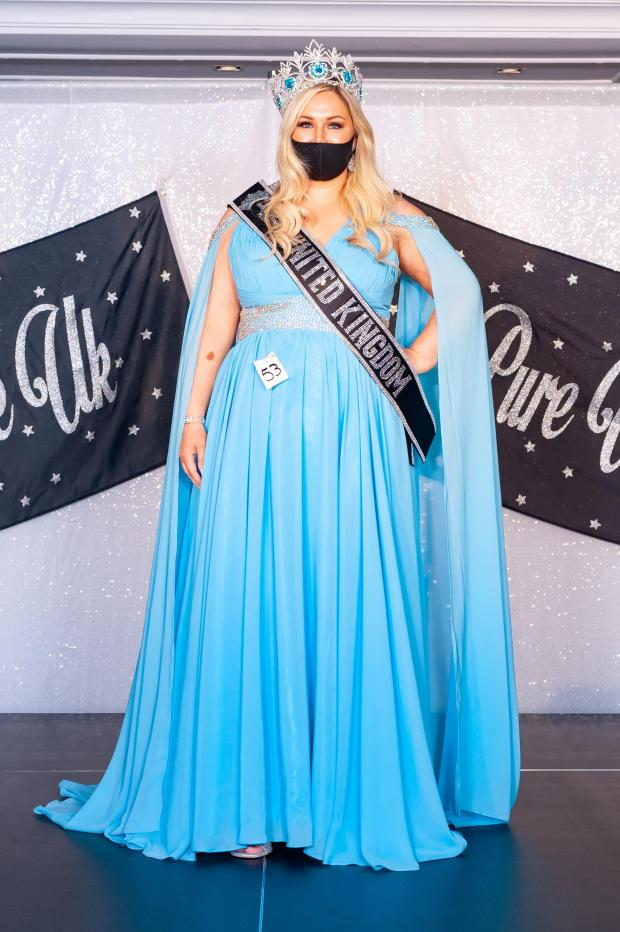 South Wales Argus: Amy Morris from Johnston won a UK beauty pageant. Photograph: Ant Bradshaw