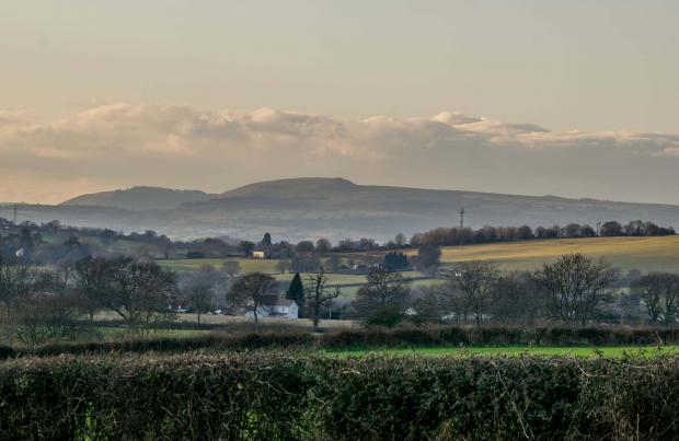 South Wales Argus: View: From Bowdens Lane looking out over Llandevaud. Picture: Larry Wilkie, South Wales Argus Camera Club