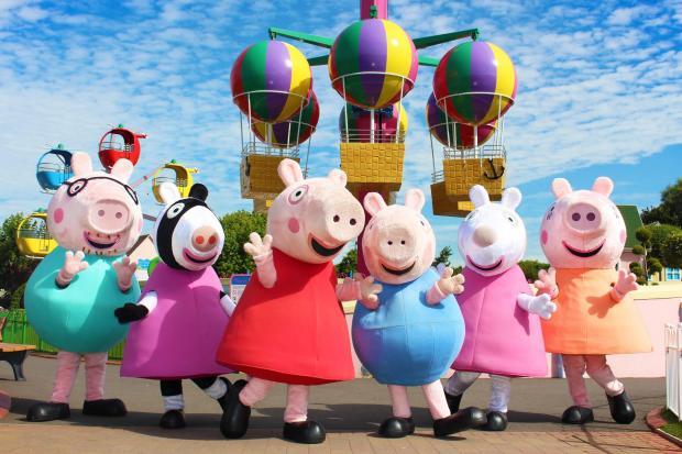 South Wales Argus: Peppa Pig World at Paulton's Park.