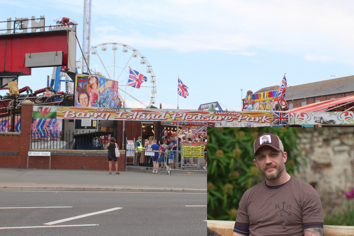 This is why Tom Hardy was in Barry Island