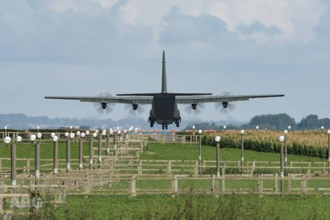 US Navy planes at Cardiff Airport – latest