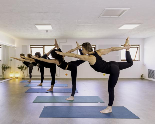 South Wales Argus: (Photo: Hot Yoga Health)
