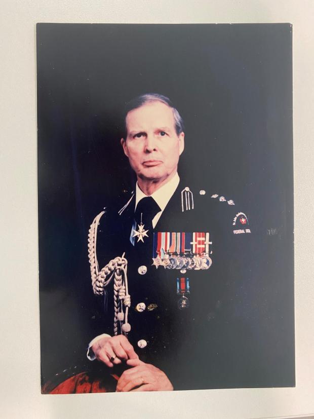 South Wales Argus: Lyndon Sheedy in his Order of St. John uniform
