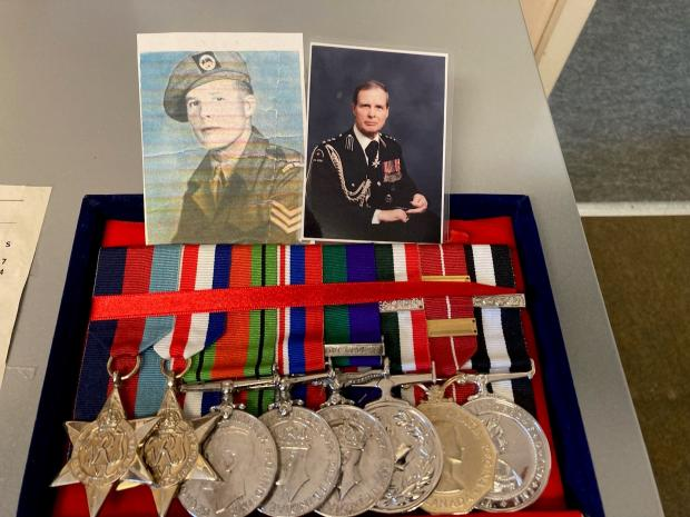 South Wales Argus: Lyndon Sheedy's medals