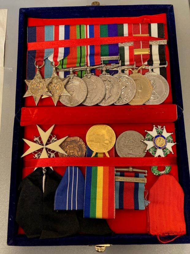 South Wales Argus: Lyndon Sheedy's military and civilian medals