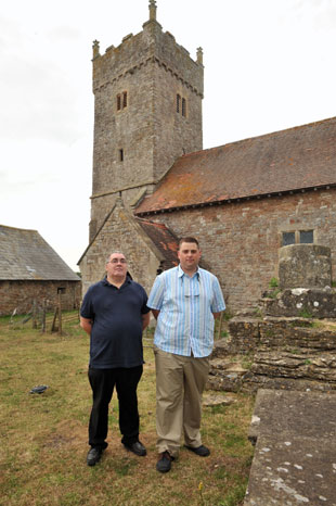 Richard Jones and Peter Strong St Michael and All Angels in Llanfihangel Rogiet