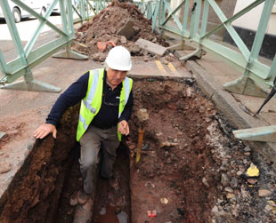 Roman fort unearthed in Monmouth