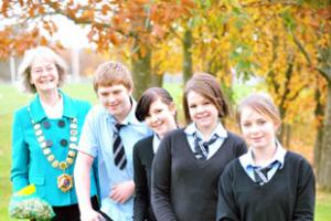 Chepstow pupils get planting to help others