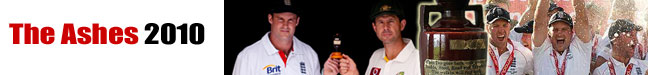 South Wales Argus: ashes 2010 header