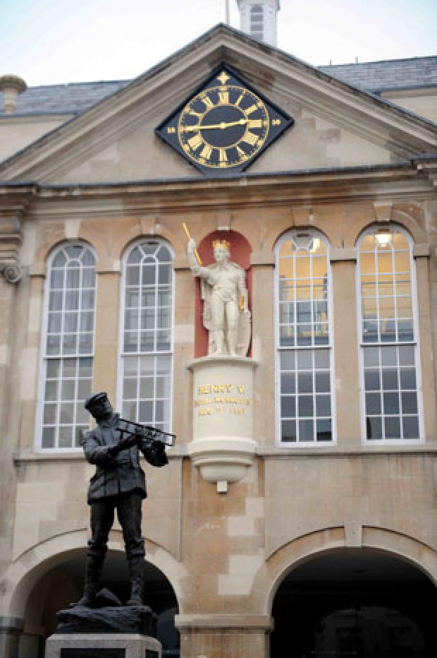 HISTORIC: Monmouth's Shire Hall