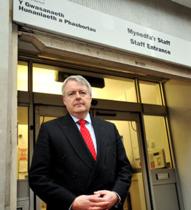 CRITICISM: First minister Carwyn Jones