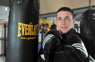 JAILED: Newport boxer Justyn Hugh