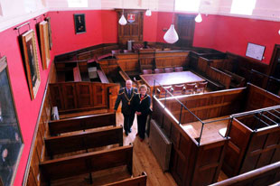 Historic Usk courthouse opens doors again