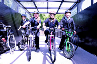 'Vital' Caerleon cycle link opens