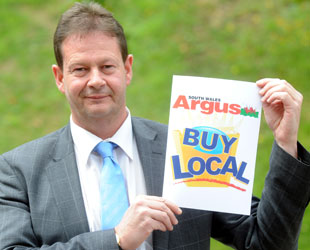 BACKING: Newport Council leader Matthew Evans is supporting our campaign