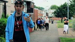 RAPPING LOCAL: Eggsy sings the praises of Cwmbran in GLC's latest video