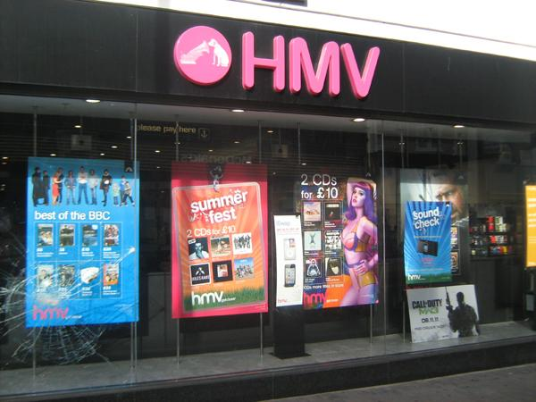 Newport and Cwmbran stores hit as HMV goes into administration