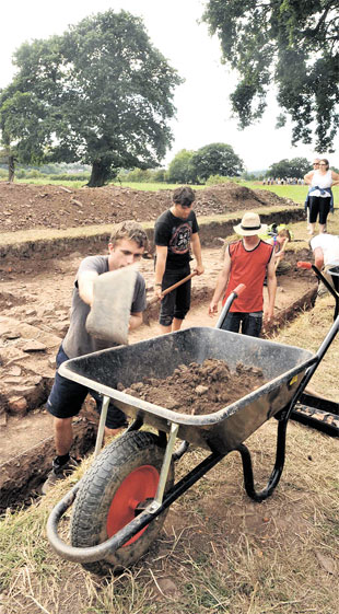 Gwent archaeological group needs volunteers