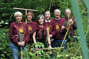 Volunteers of Usk Conservation and Environmental Group