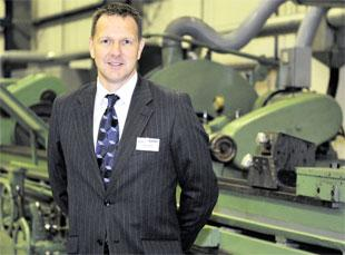 EXPANSION: Osborn sales manager Ashley Wood at the firms' new £9million premises