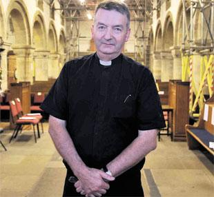 BOOK OF CONDOLENCE: The Very Reverend Jeremy Winston, Dean of Newport Cathedral, who died on Monday