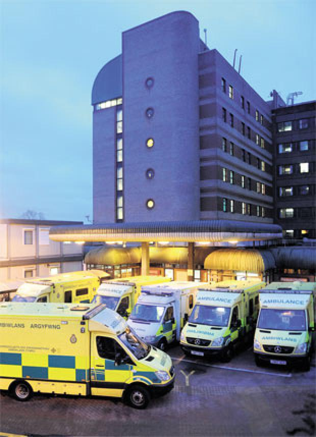 'NOT ENOUGH DOCTORS': Newport's Royal Gwent Hospital's accident and emergency department had to tuen patients away