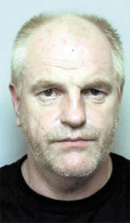 LOCKED UP: Michael Ball, 44, from Caldicot, who tried to murder his ex-wife