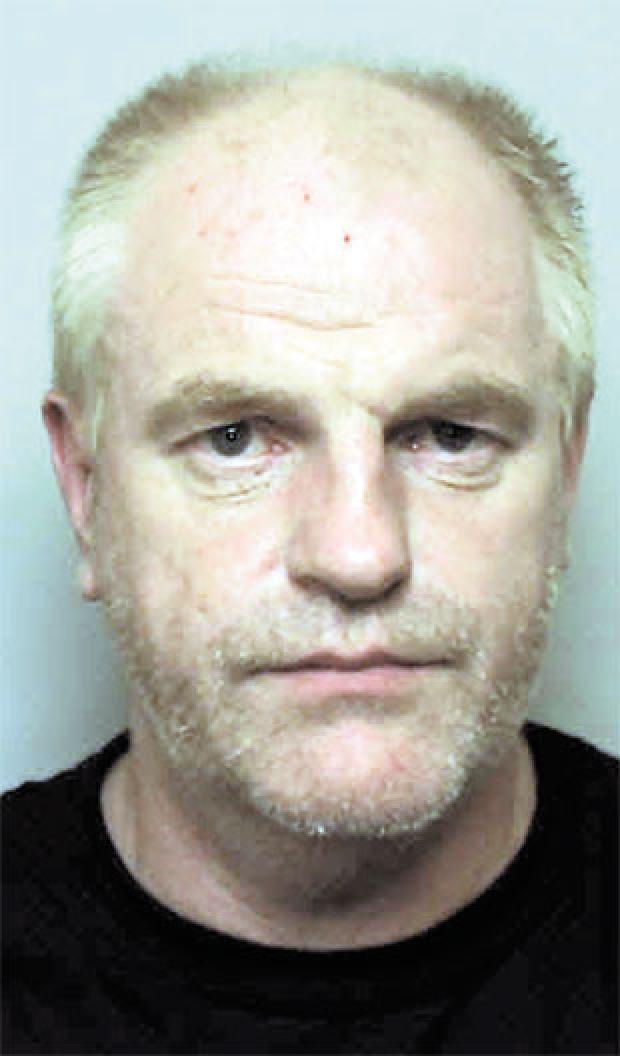 South Wales Argus: LOCKED UP: Michael Ball, 44, from Caldicot, who tried to murder his ex-wife