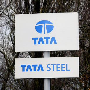 EMERGENCY: The blaze at Tata Steel's plant in Llanwern took 70 firefighters 12 hours to deal with