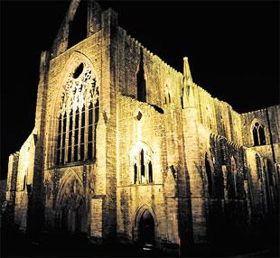 South Wales Argus: LIT UP: Tintern Abbey