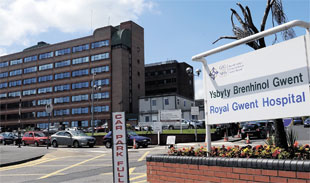 Gwent hospital superbug cases down by 48 per cent