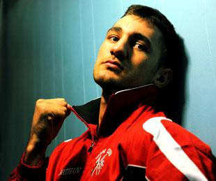 WANTS THE FIGHT: Nathan Cleverly