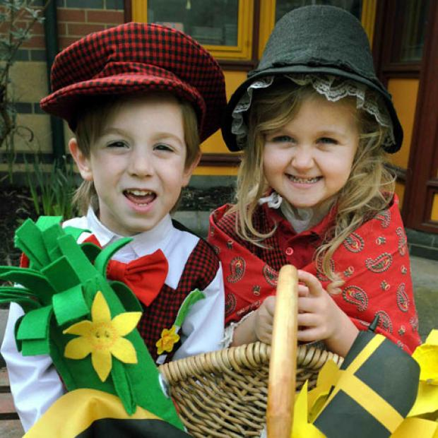 Caerphilly youngsters can make discoveries on St David's Day