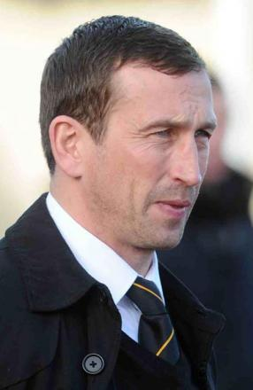 STAYING PUT: Newport County manager Justin Edinburgh