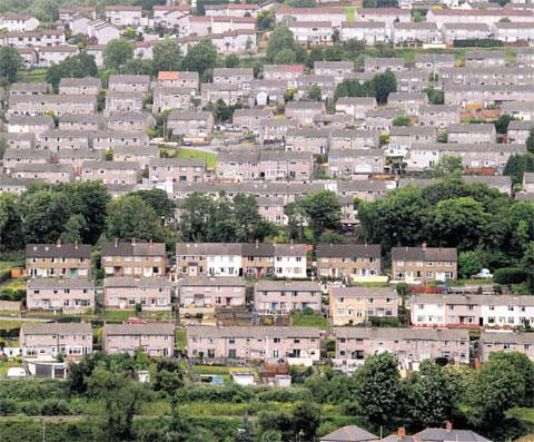 Getting Caerphilly council houses up to scratch will cost £20m