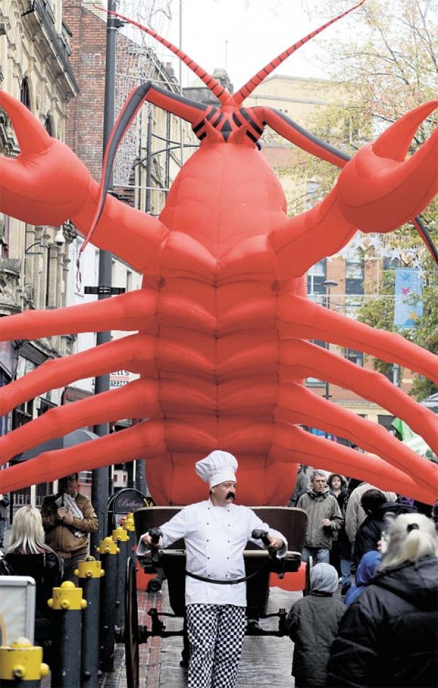 South Wales Argus: Tickets on sale for Newport's Food Festival opening feast