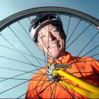PEDAL POWER: Newport East AM and Welsh Government environment minister John Griffiths