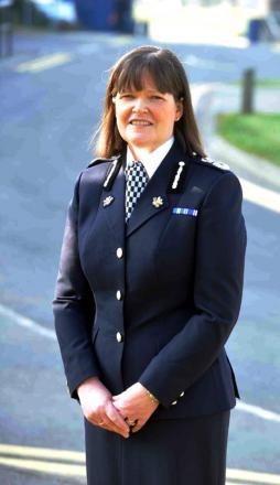 Gwent chief constable Carmel Napier