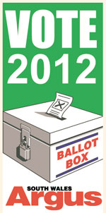 South Wales Argus: election 2012 icon
