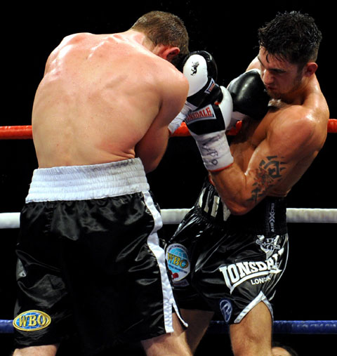 CHAMPION: Nathan Cleverly