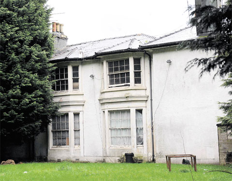 PLANS BACKED: Woodlands House in Malpas, Newport