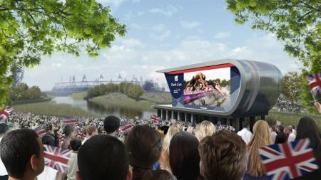 Park Live: Giant TV screens will be keeping spectators entertained at the Olympic Park. There are plans to offer general Park tickets, enabling people to come into the Olympic Park without tickets for sporting events.