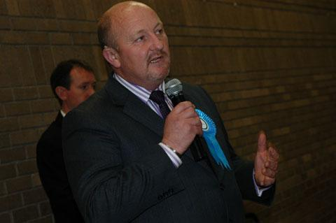 Monmouthshire council's leader, Councillor Peter Fox