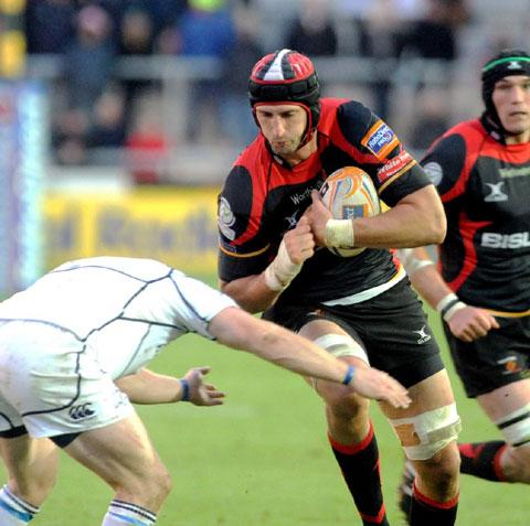 Loyal Luke Charteris' Dragons hopes