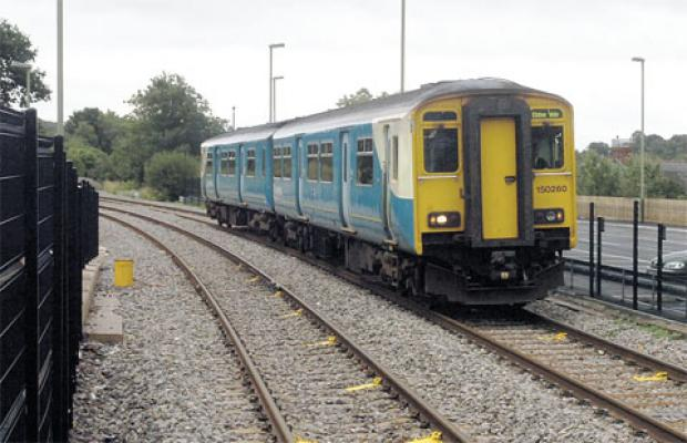 South Wales Argus: TRAIN TOUR: Arriva Trains Wales' map publicising destinations on their routes across Wales makes no mention of Newport