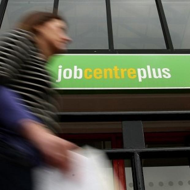 The number of unemployed people fell by 45,000, new figures show