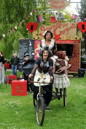 500 flock to steampunk festival