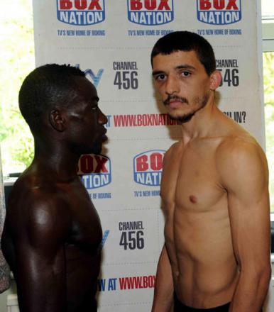 SHOWDOWN: Newport-based Lee Selby faces Patrick Okine of Ghana at the Newport Centre tonight