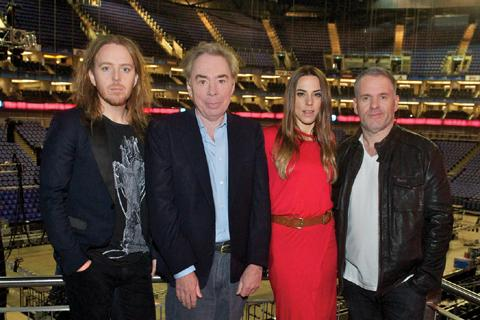 Tim Minchin, Sir Andrew Lloyd Webber, Melanie Chisholm and Chris Moyles announce the Jesus Christ Superstar tour.