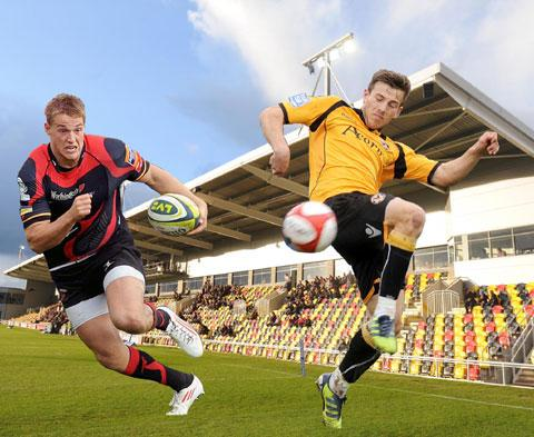 WELCOME TO THE FUTURE: Rugby and football at Rodney Parade